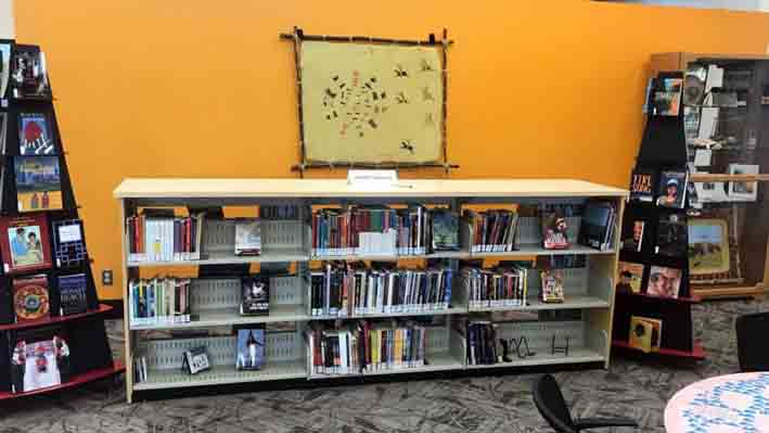 5.4 Lethbridge Public Library, Main Branch. New First Nations, Metis, Inuit area called Piitoyiss in the Blackfoot language or Eagles' Nest.Credit.Lethbridge...